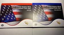 2013 United States Mint Unc Coin Set Denver & Philadelphia