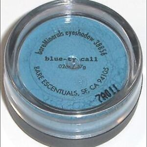 bareMinerals Loose Eye Color Shadow Blue-ty Call (medium soft blue) Sealed .57 g