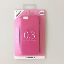 boîtier ULTRA MINCE 0.3 Pochette de protection pour Apple iPhone 6 6S ROSE Puro