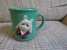 2002 Henson Miss Piggy Divine Swine Green Cup