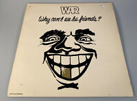 War Why Can't We Be Friends LP Album With Poster