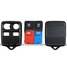 New Replacement Remote Key Keyless FOB Case Rubber 4 Button Pad Shell For Ford