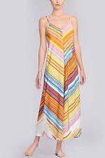 NATORI Pink Multi Loren Chevron Nightgown. Size M.*******NEW********$125********