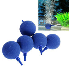 "5x 25mm 1""Ball Round Air Stones for Pond or Aquarium Fish Tank Pump Pet Access"