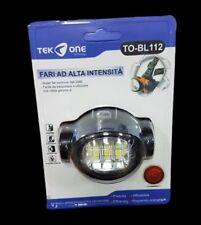 Torcia Testa TeKone BL112 Led Frontale Lampada SMD 6w Luce Pesca Campeggio hsb