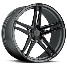 17 inch 17x8 Tsw Mechanica Matte Gunmetal wheel rim 5x112 +45(Fits: Rabbit)