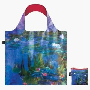 Claude Monet Water Lilies 15% off  = cheapest LOQI Tote bag on any marketplace