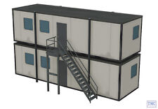 44-081 Scenecraft OO Gauge Portable Offices 130mm X 55mm X 77mm
