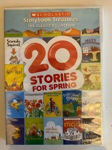 20 Stories Scholastic Classics DVD Giggle Giggle Quack Dooby Moo Runaway Ralph +