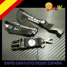 COLGANTE COLLAR LANYARD PARA LLAVES BMW MOTORSPORT ///M   55 x 2,5 CM E30 E46