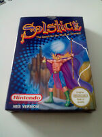 Solstice: The Quest for the Staff of Demons for Nintendo, NES, 1990, Fantasy