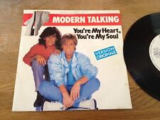 "MODERN TALKING ""YOU´RE MY HEART, YOURE MY SOUL"" 1985 SACEM FRENCH PRESS SCARCE*"