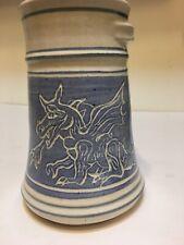Dragon Mug Pottery Handmade