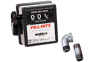 Tuthill 807Cmk Flow Meter Black 5-20 Gpm Flow Mechanical Numbers Pipe & Fittings