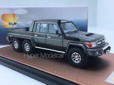 GLM 1/43 Toyota Land Cruiser FJ79 MTD 6x6 1999  Anthracite Met. Art. GLM300701