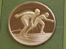 Illinois Sapporo Gold Medal Winners Solid Bronze Medal Franklin Mint D6315
