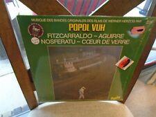 Popol Vuh Soundtrack LP Sealed Fitzcarraldo Aguirre Nosferatu Coeur De Verre