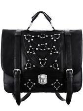 Restyle Bondage Messenger Bag Backpack Tas Rugzak Gothic Occult Rock Alternative