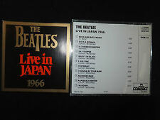 CD THE BEATLES / LIVE IN JAPAN 1966 /