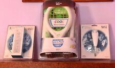 Nintendo Wii Remote & Nunchuck & Nerf Sports Tennis Golf Baseball Controllers