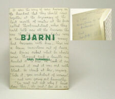Gael Turnbull / BJARNI SPIKE-HELGI'S SON AND OTHER POEMS Signed 1st Edition 1956