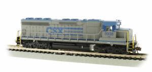 Bachmann 66457 N Scale CSX TRANSPORTATION® #8938 - SD45 - DCC SOUND VALUE