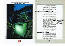 Publicité Advertising 037  1985  Leroy Somer (2p)  pompe à chaleur bi-energie