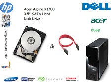 "80GB Acer Aspire X1700 3.5"" SATA disco duro (HDD) de reemplazo/UPGRADE"