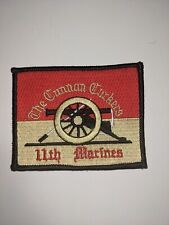 The Cannon Corkers 11th Marines Military Patch