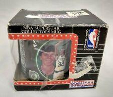Vintage Boston Celtics NBA Kevin McHale 32 Ceramic Coffee Mug Cup 1992 Boxed New