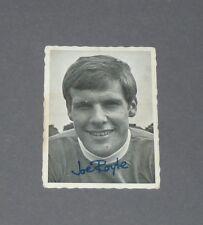 A & BC GUM CARD FOOTBALL ENGLAND 1969 JOE ROYLE EVERTON BLUES TOFFEES GOODISON