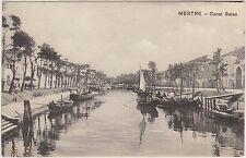 MESTRE - CANAL SALSO (VENEZIA) 1910