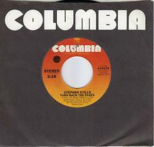 STEPHEN STILLS  Turn Back The Pages / Shuffle Just As Bad 45 from 1975  CS&N
