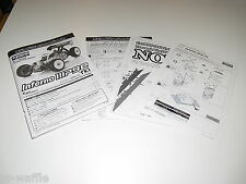 KYOSHO INFERNO MP9-E TKI OWNERS MANUAL AND TECH SHEETS