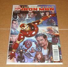 Invincible Iron Man #527 Variant Edition 1st Print Final Issue Matt Fraction