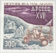 MADAGASCAR MALAGASY 1973 671 C111 Apollo 17 Moonlanding Lunar Rover Space MNH