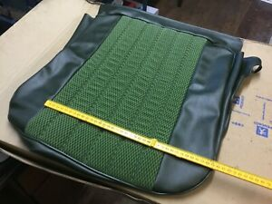 Genuine Peugeot 104 Front seat lower cushion  cover 899149 green vert check