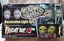 Friday The 13th Jason Voorhees Head Lites Decorative Light Set Neca Halloween