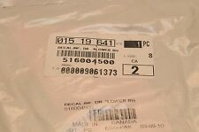 NEW SKI-DOO OEM DECAL 516004499 2011 RENEGADE X ADRENALINE 1200 XR BLACK/WHITE R