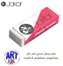 Jakar Artists White Plastic Eraser/Rubber Paper & Film Drawing Sketching - 5334
