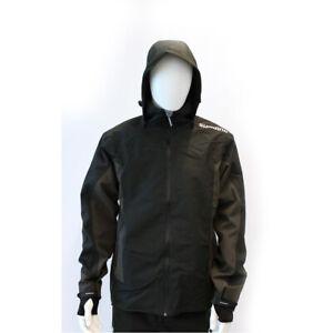 Shimano Jacket Black Schwarz S M L XL XXL XXXL 2XL 3XL Jacke Schwarz wasserfest