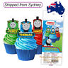 THOMAS THE TANK ENGINE Edible Wafer Cupcake Toppers - 16 piece pack - Licensed