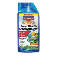 BioAdvanced All-in-One Lawn Weed & Crabgrass Killer 40 oz Concentrate for Dan...
