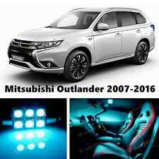 9pcs LED ICE Blue Light Interior Package Kit for Mitsubishi Outlander