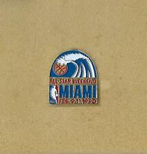 NBS BASKETBALL ALL-STAR WEEKEND 9-11.2.1990 MIAMI, FL OFFICIAL PIN