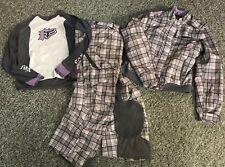 Women's Fox Racing Girls MX Jacket/Pants/Shirt Combo - Size L, 9/10