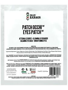 Old Barber Patches for the skin around the eyes with hyaluronic acid 3 ml.