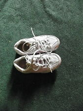 ATHLETIC WORKS LACE UP ATHLETIC SHOES PURPLE & WHITE TODDLER GIRLS SIZE 8 1/2