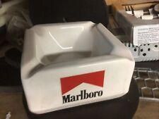 New Original Ceramic 70's / 80's Collectible Marlboro Ashtray