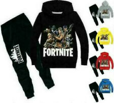 2 pieces of Fortnite sweaters for boys and girls hooded tracksuits 6-12 years